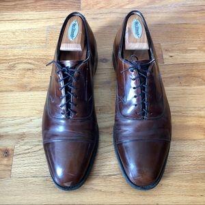 Johnston & Murphey Melton Cap Toe Dress Shoe